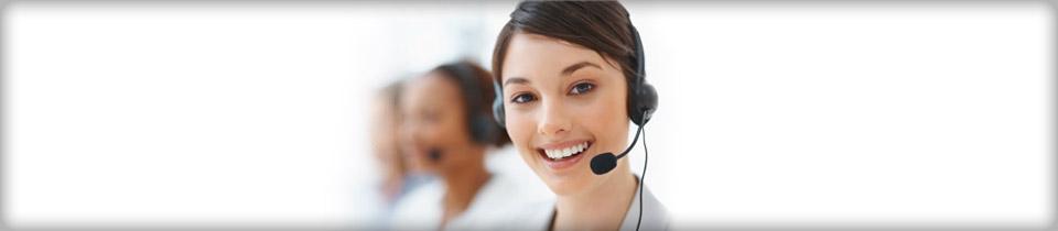صورة موظفة خدمة العملاء فى الشركة