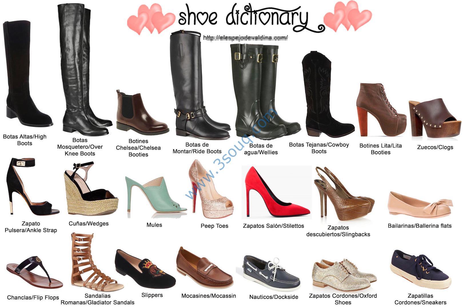 женская обувь разновидности с фото и названиями получает доступ